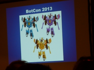 hasbro panel botcon ALL ITEM089