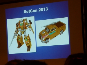 hasbro panel botcon ALL ITEM091