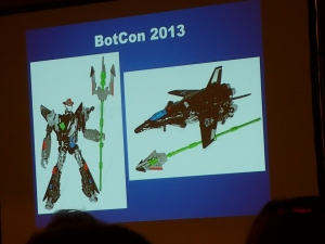 hasbro panel botcon ALL ITEM093