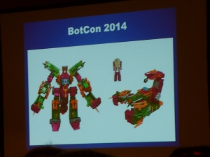 hasbro panel botcon ALL ITEM095