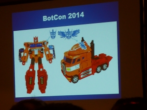 hasbro panel botcon ALL ITEM096