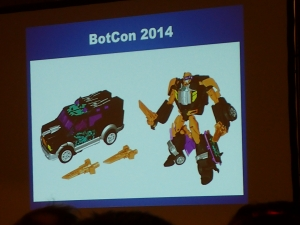 hasbro panel botcon ALL ITEM098