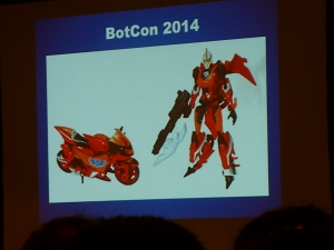hasbro panel botcon ALL ITEM103