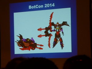 hasbro panel botcon ALL ITEM104