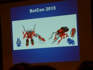 hasbro panel botcon ALL ITEM110