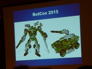 hasbro panel botcon ALL ITEM111