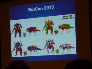 hasbro panel botcon ALL ITEM114