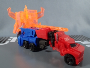 Transformers Robots in Disguise Decepticon Hunter Optimus Prime vs Decepticon Bludgeon Pack025