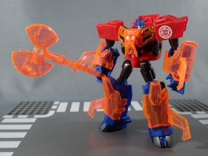 Transformers Robots in Disguise Decepticon Hunter Optimus Prime vs Decepticon Bludgeon Pack040