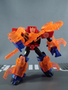 Transformers Robots in Disguise Decepticon Hunter Optimus Prime vs Decepticon Bludgeon Pack052