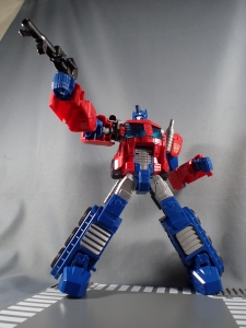 Transformers Cyber Commander Series Optimus Prime006