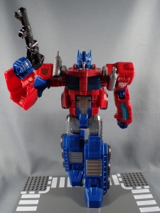 Transformers Cyber Commander Series Optimus Prime008