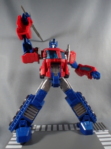 Transformers Cyber Commander Series Optimus Prime011