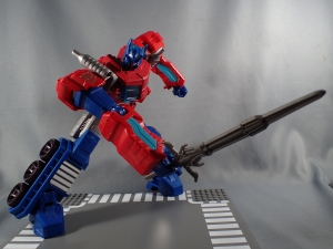 Transformers Cyber Commander Series Optimus Prime012