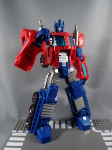 Transformers Cyber Commander Series Optimus Prime031