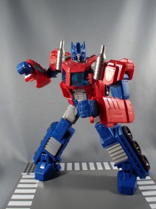 Transformers Cyber Commander Series Optimus Prime032