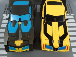 トイザらス限定 トランスフォーマー TED EX ビッグシュプリームモードオプティマスプライム・ビッグシュプリームモードバンブルビー030