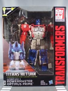 Transformers Generations Leader Powermaster Optimus Prime001