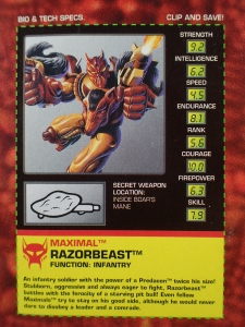 TF BEAST WARS The Heroic Maximal RAZORBEAST003