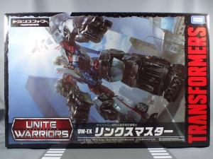 タカラトミーモール限定 ユナイトウォリアーズ UW-EX リンクスマスター 01 輸送員 スカイリンクス002