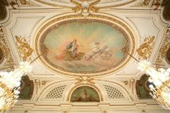 朝日の間(天井絵画)