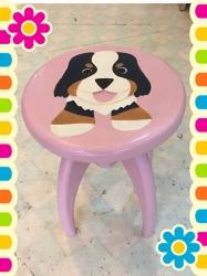 バーニーズ椅子2