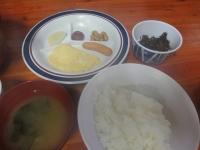 阿曽原の朝食
