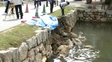広島城石垣