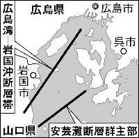安芸灘断層群1
