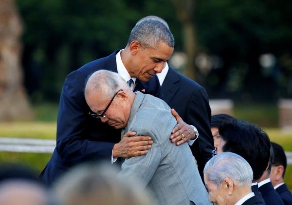 オバマ大統領 被爆者
