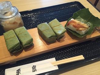 柿のは寿司