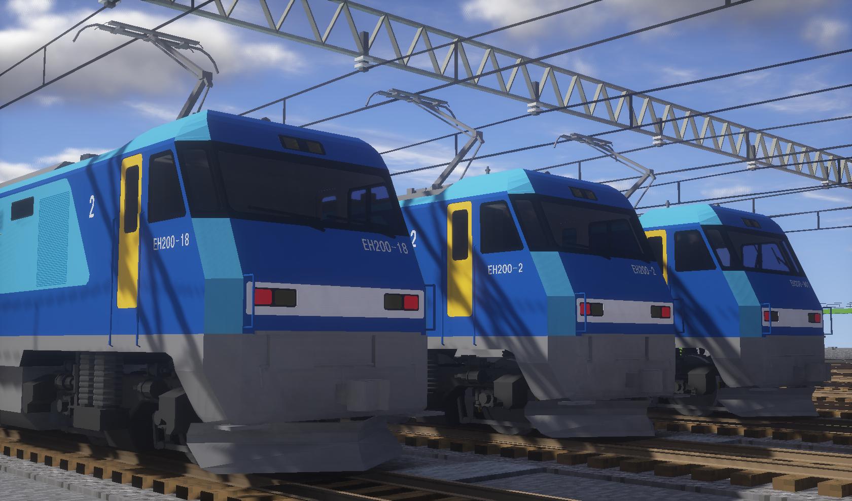 宝条帝都:RTM系 JR貨物 EH200形...