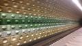 地下鉄の駅色違い