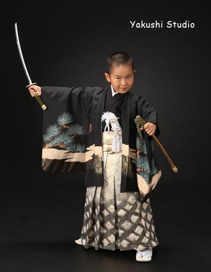 20160911五歳羽織袴