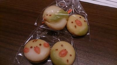 鳥クッキー1