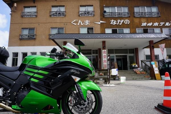 2016.9.2ソロツーリング渋峠ホテル
