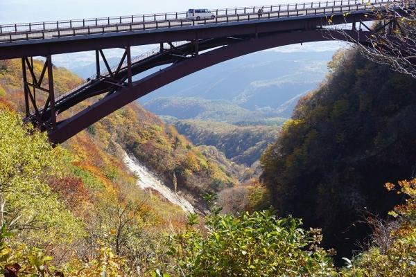 2016.10.25山形ツーリング(磐梯吾妻スカイライン つばくろ谷)