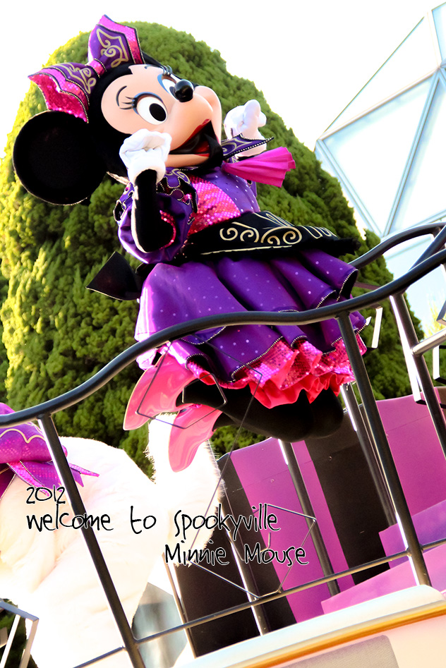 Welcome to Spookyville 2012/ミニーマウス1