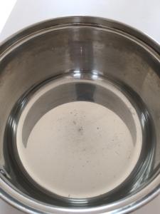オキシクリーン洗浄後の鍋