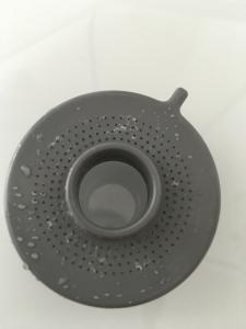 水垢、カルキの付いた散水板