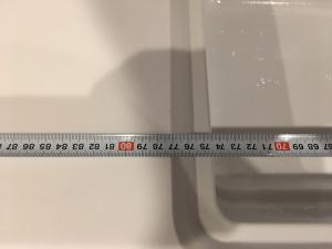 樹脂シンクの横幅