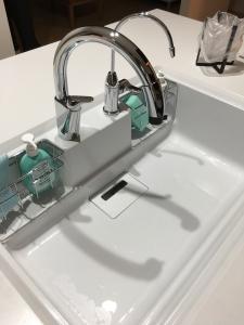 LIXILタッチレス水栓ナビッシュ