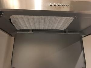 掃除の後換気扇