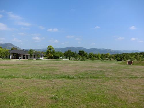 吉野ケ里歴史公園の、祭りの広場です。その1