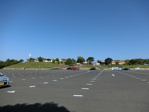あぐりの丘の第1駐車場です。 ひろ~い!