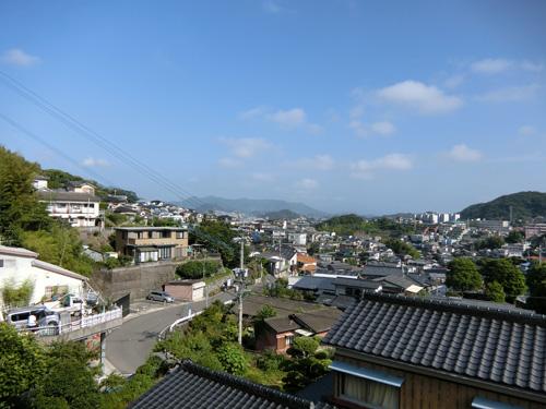 昨日と変わって、いいお天気に。
