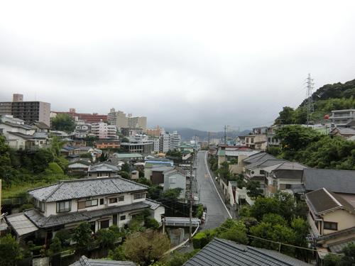又今日も雨です。