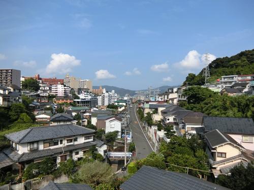 今朝の長崎。