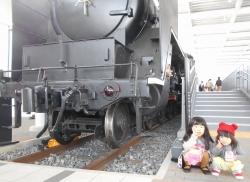 孫と鉄道博物館 1