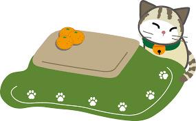 こたつ猫緑